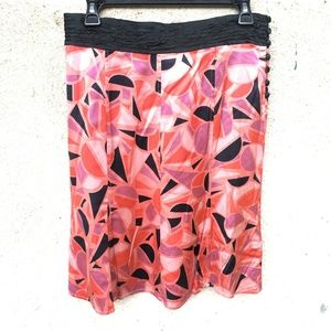Marc Jacobs Satin Printed Skirt - Sz 6